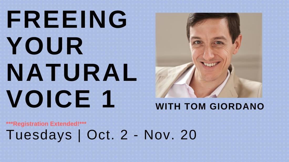 Freeing Your Natural Voice 1 with Tom Giordano