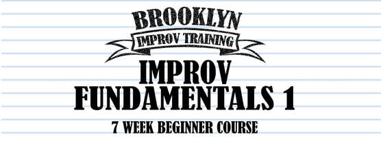 Brooklyn ImprovTraining Fundies 1 image